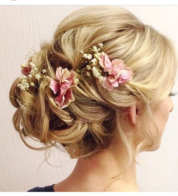 Beautiful hairdo