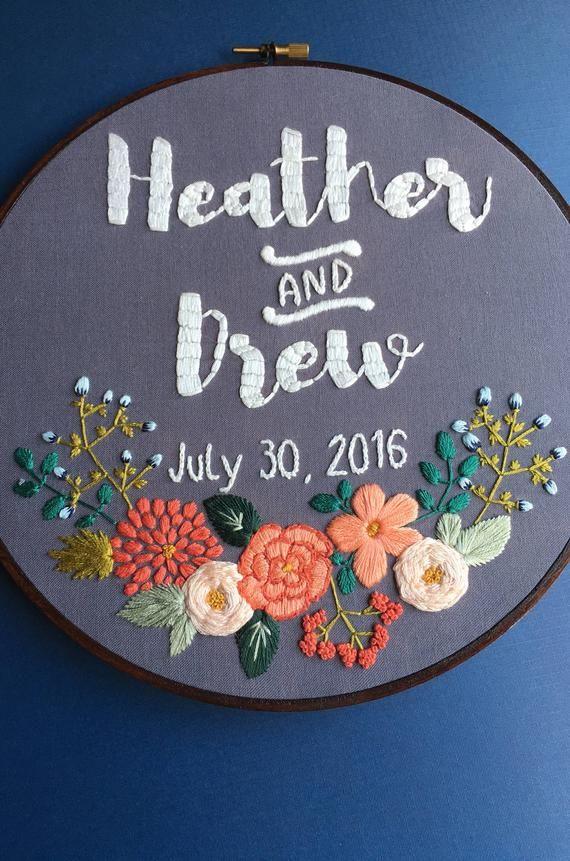 Custom Embroidery Hoop Art Embroidery Hoop Embroidery