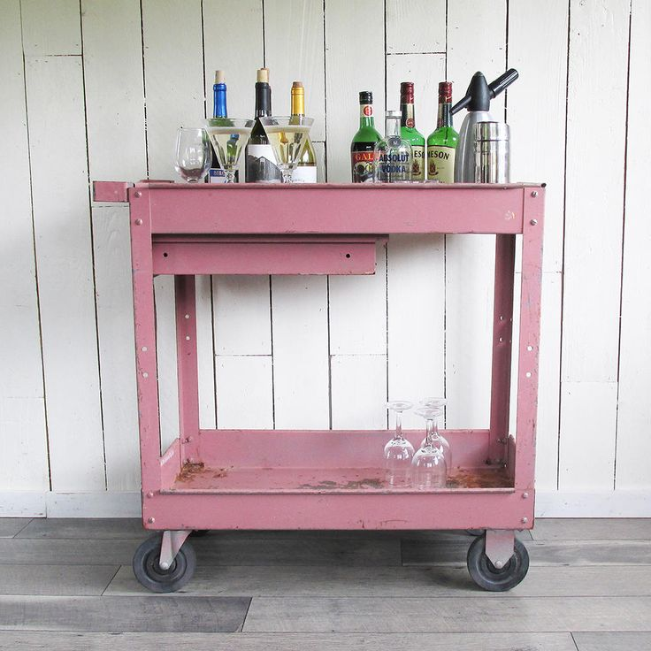 1000 Ideas About Metal Cart On Pinterest: 25+ Best Ideas About Industrial Bar Cart On Pinterest