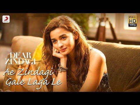 Ae Zindagi Gale Laga Le Take 1 - Dear Zindagi    Alia   SRK   ILAIYARAAJA   Gulzar   Amit   Arijit - YouTube