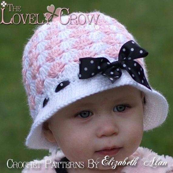 Crochet Pattern Cloche      ♪ ♪ ... #inspiration #crochet  #knit #diy GB