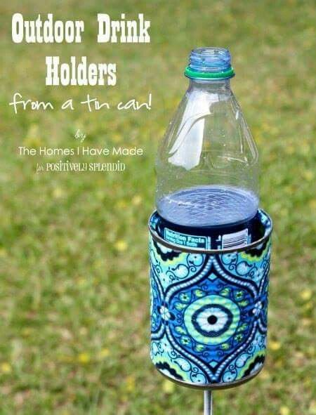 Ef572acb9a8668aadeb490b55370444f Jpg 564 851: Outdoor Drink Holder Tutorial (With Images)