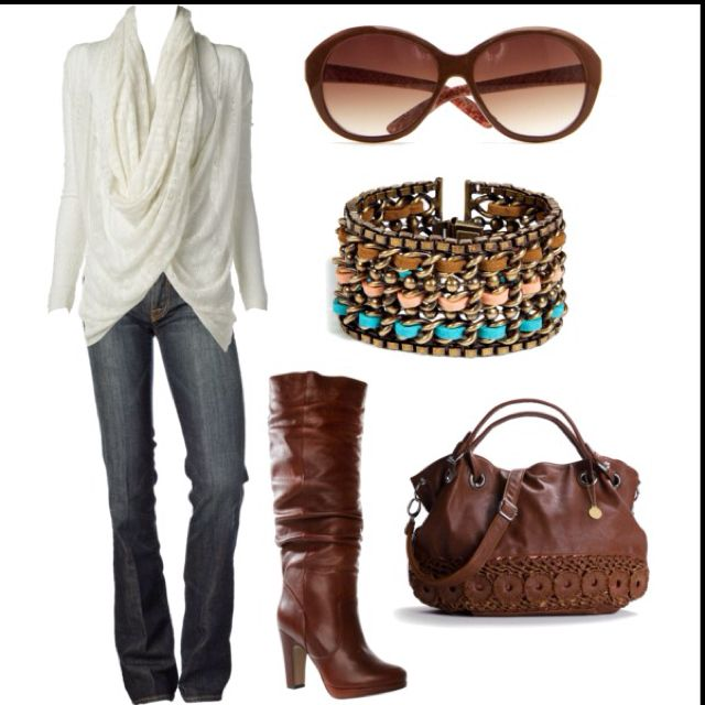 Sweaters, Fashion, Casual Chic, Fall Looks, Weekend Style, Fall Outfit, Brown Boots, Cute Outfit, My Style