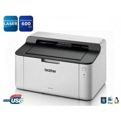 Brother HL-1110 Imprimante Laser Monochrome - Achat / Vente imprimante Brother HL-1110 - Cdiscount