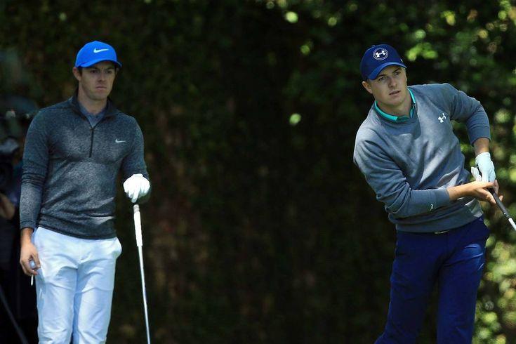 Rory McIlroy and Jordan Spieth