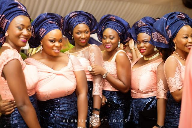 Yoruba Traditional Wedding of Abisoye and Lanre by Alakija Studios