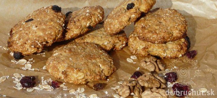 Fotorecept: Cookies s ovsenými vločkami