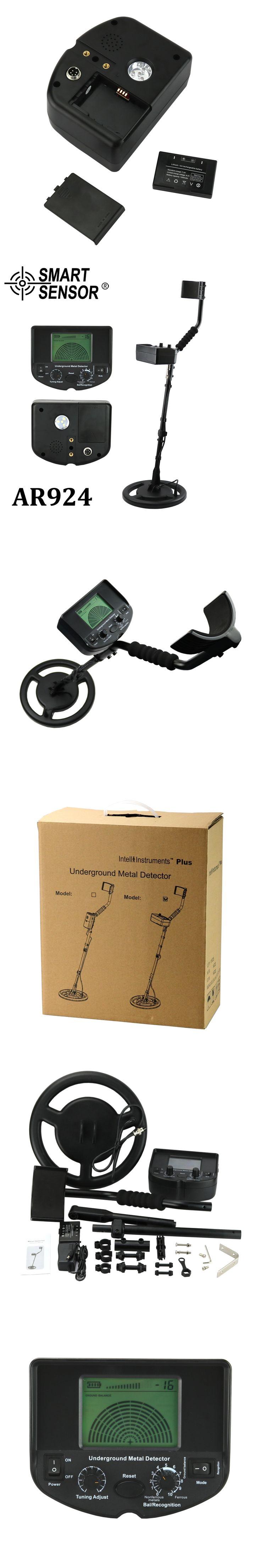 Underground Metal Detector gold detector digger treasure hunter Smart Sensor AR924+ Professional metal detector price depth 1.5m