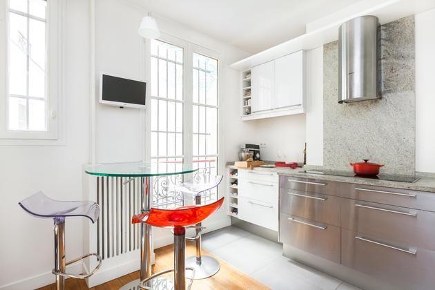 Ένα υπέροχο διαμέρισμα στο Παρίσι, με όμορφες διακοσμητικές λεπτομέρειες