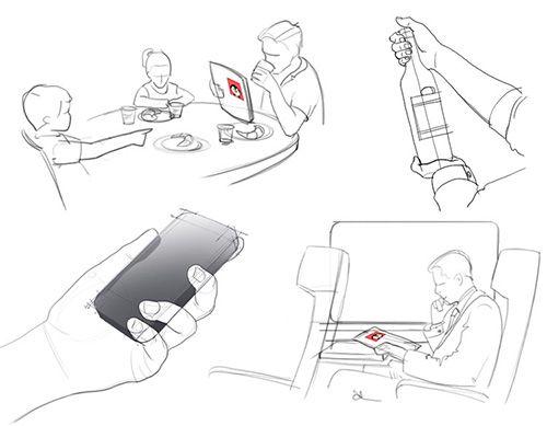 example scenario sketch