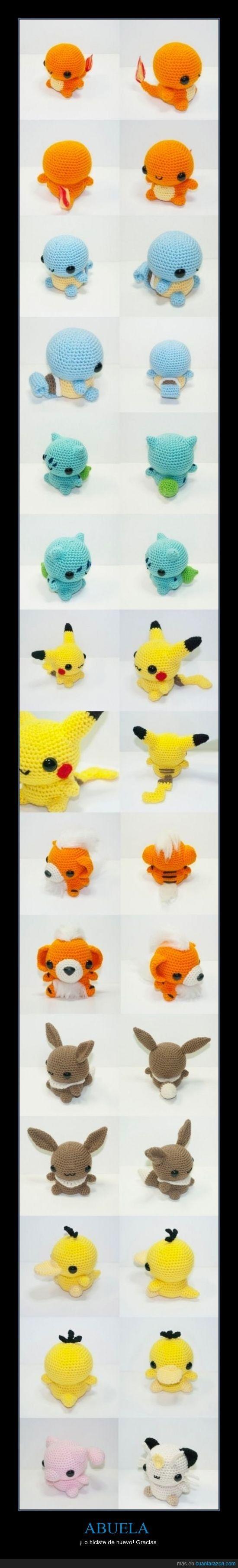 1049 best Crochet Pokemon images on Pinterest | Amigurumi patterns ...