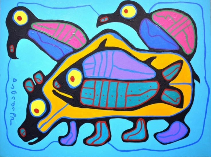 All Life - Norval Morrisseau