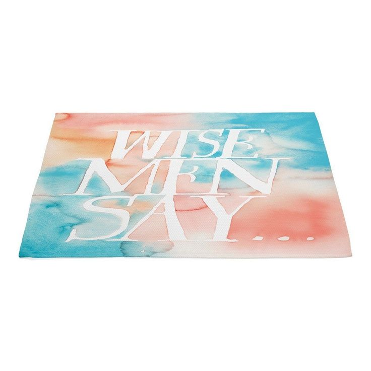 Wise Men Say Products Pinterest Products Rugs
