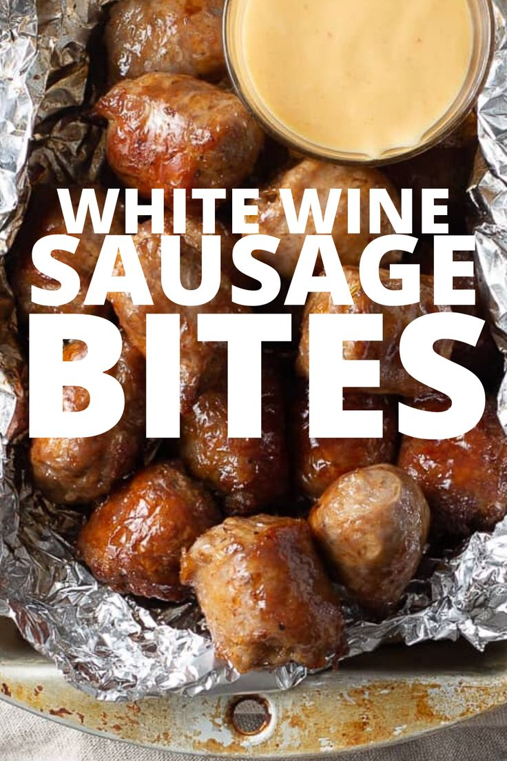 Easy sausage appetizer recipes with only TWO ingredients for the bites, plus a spicy honey mustard sauce.