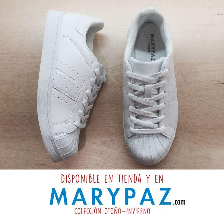 ¡¡ Compartimos este #Shoelfie con todas las que no pueden vivir sin sus deportivas !! Viste tu Jans Look con las deportivas MARYPAZ  Hazte con esta DEPORTIVA MARYPAZ aquí ►http://www.marypaz.com/trendy/deportiva-tendencia/deportiva-punta-reforzada-01901bw151206-74647.html  👠  😍 ¡¡¡ NEW COLLECTION AW/16 BY MARYPAZ !!!  😍  👠 ¡¡Más de mil diseños para ti!!  Podrás encontrar el zapato ideal para cada ocasión sea cual sea tu estilo. ¡No te quedes sin tus imprescindibles!  #Follow #winter