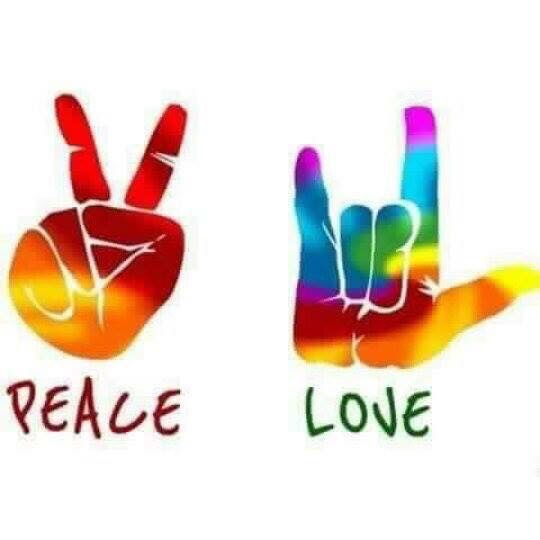 Flower Power:  #Flower #Power ~ Peace and Love.