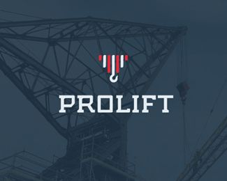 crane and lift service logo