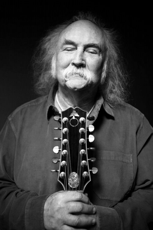 David Crosby, Photo by Michael Grecco