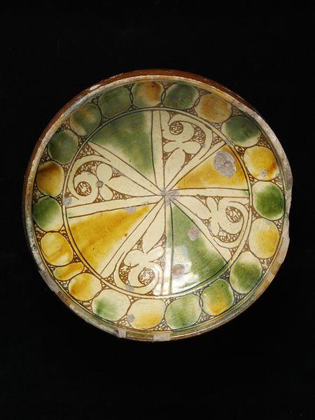 Bowl   V&A Search the Collections. Cyprus, 14-15th c