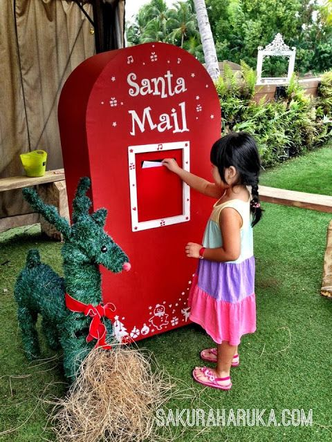 Giant mailbox for mails to Santa! #christmas #xmas #kids #fun #ideas #thingstodo