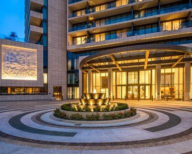Waldorf Astoria Beverly Hills Hotel, CA - WABH Porte Cochere