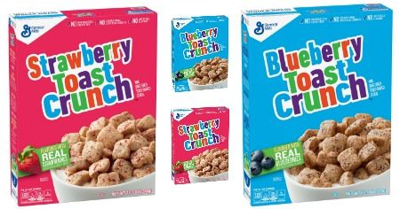 Target: 5 FREE Strawberry or Blueberry Toast Crunch! ($15 Value) 7/30 Only!