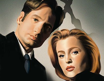 """Check out new work on my @Behance portfolio: """"The X Files"""" http://be.net/gallery/33528603/The-X-Files"""