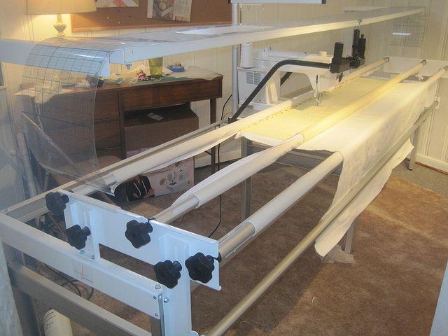 Husqvarna Viking Mega Quilter with Inspira Quilting Frame Cruise ... : inspira quilting frame parts - Adamdwight.com