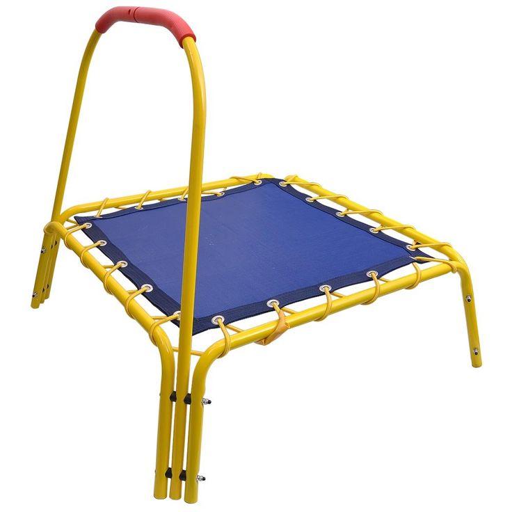 """AW 35x35x33"""" Indoor Outdoor Mini Trampoline Kids Bouncer"""