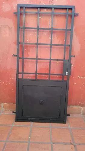 puertas de hierro macizo a medida