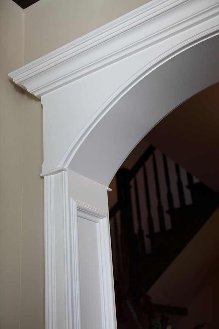 Best 25 arch doorway ideas on pinterest archway molding for Architectural trim