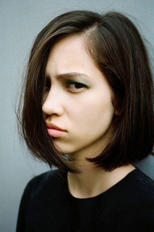 Kiko Mizuhara bob hair don't care