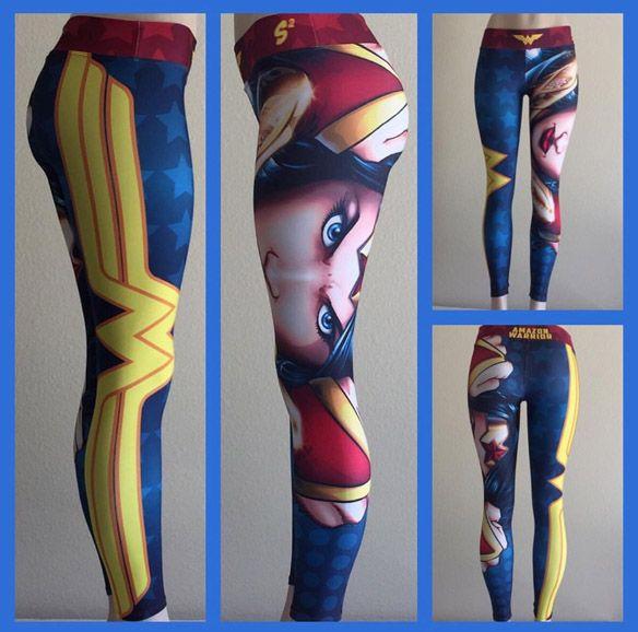 DC Comics Wonder Woman Leggings