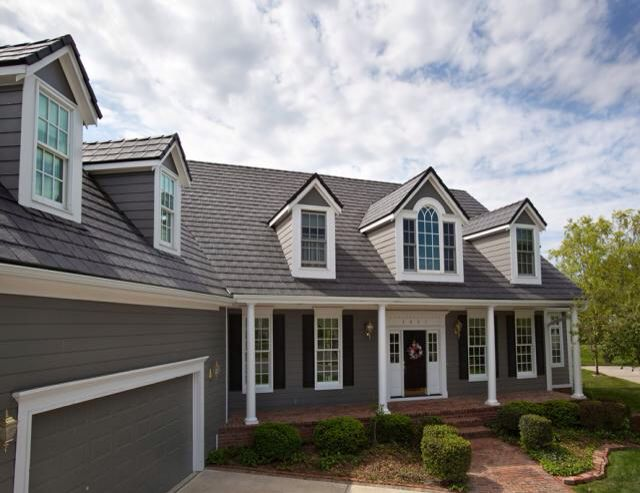 Gray With Gray Roof Outside House Paint Exterior House Colors