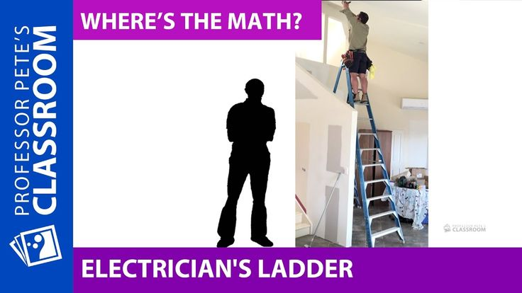 Where's the Math #14 For Grades 4-6: How Tall is This Ladder?