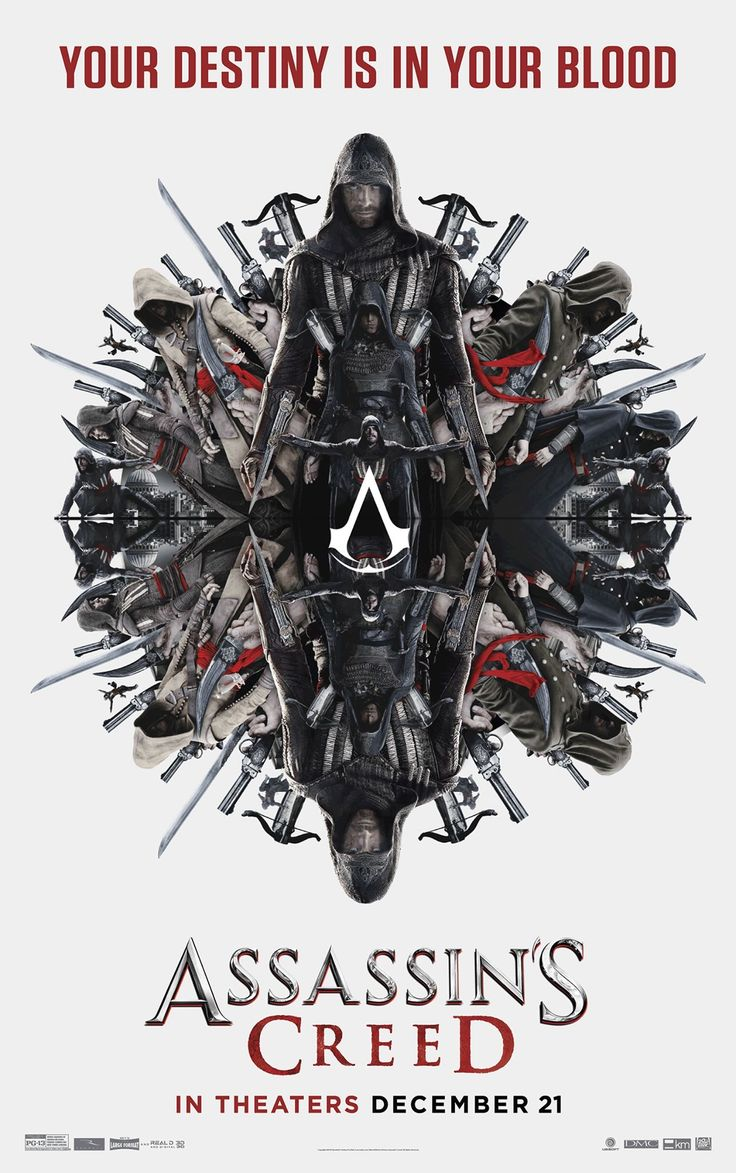 Another new (&, personally speaking, awesome) poster for the Assassin's Creed movie.