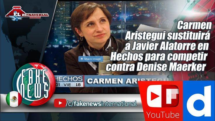 Carmen Aristegui sustituirá a Javier Alatorre en Hechos para competir co...