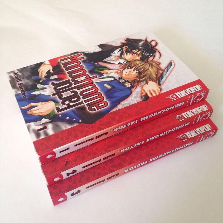 Monochrome Factor Vol 1 3 Tokyopop Manga Kaili Sorano Action Fantasy Young Adult   eBay