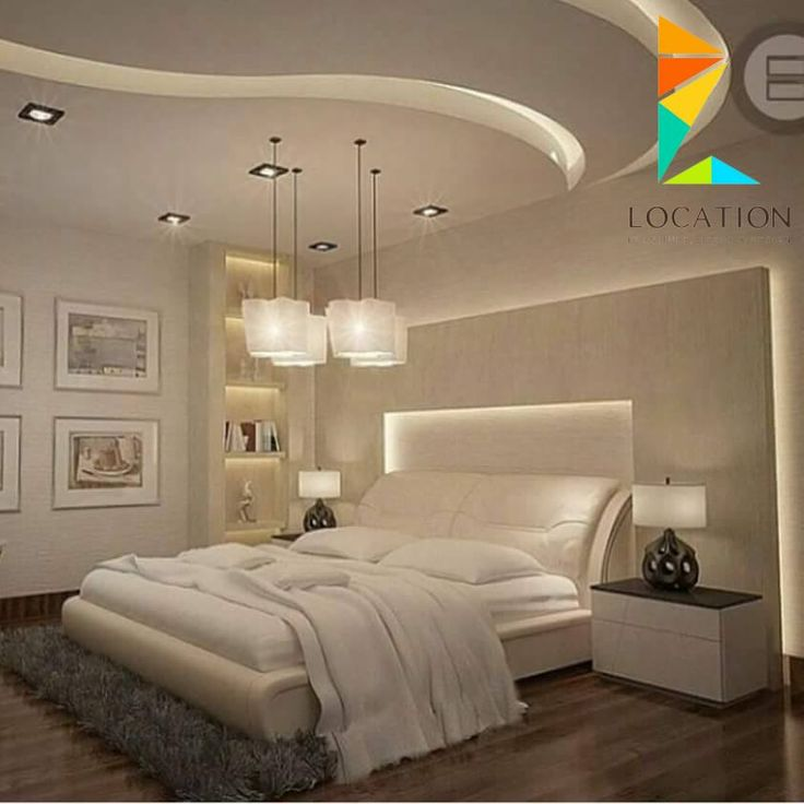 Modern Apartment Bedroom Ideas Bedroom Gypsum Ceiling Designs Bedroom With Accent Wall Bedroom Colours That Go With Red: ديكور جبس غرف نوم 2017 - 2018