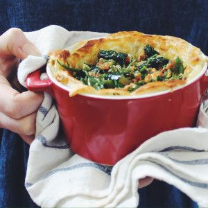 I Quit Sugar - Sausage and Greens Pie