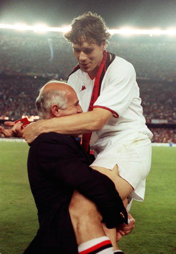 Marco Van Basten #milan #calcio #sport #storia
