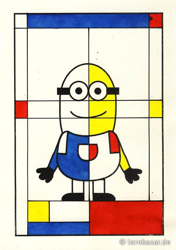Minion a la Mondrian