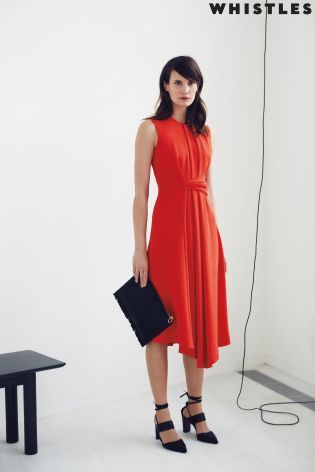Buy Whistles Marisa Draped Dress from the Next UK online shop