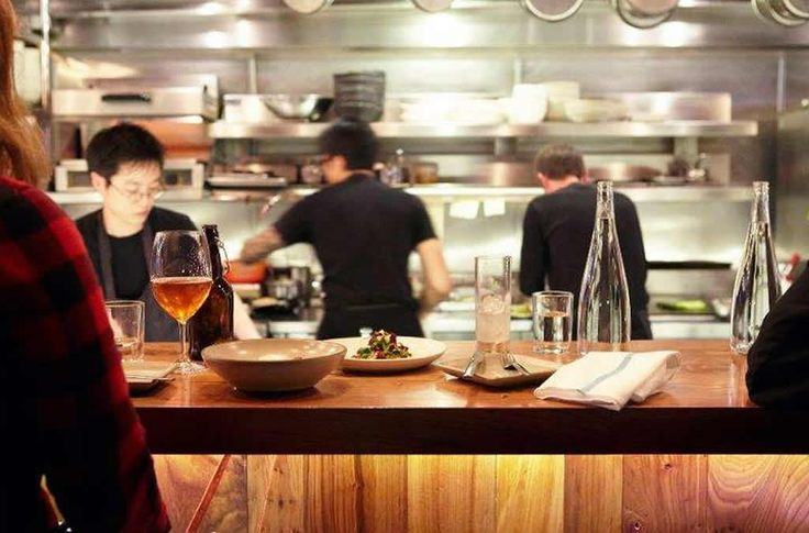 Pictures of professional open restaurant kitchens open for Kitchen design oakland