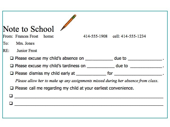 How to Write a Formal Letter to School
