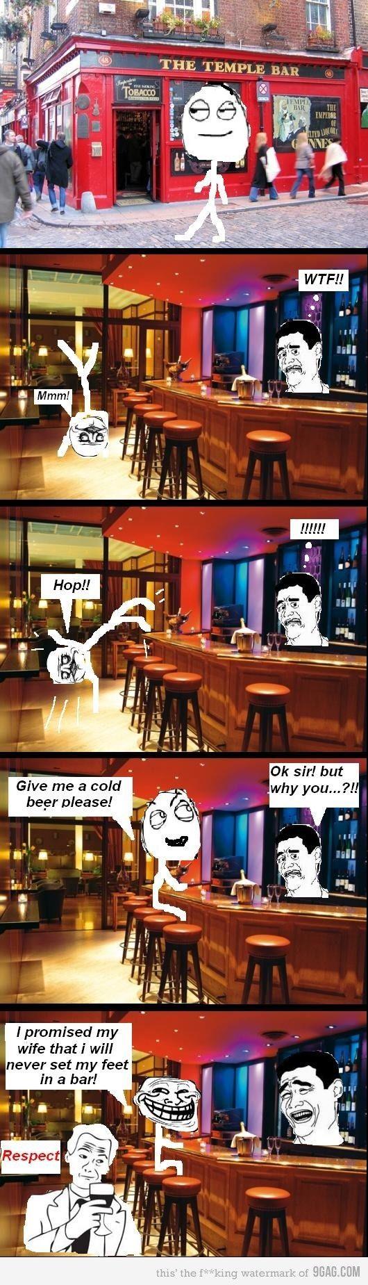 Rage Comics :) The Temple Bar