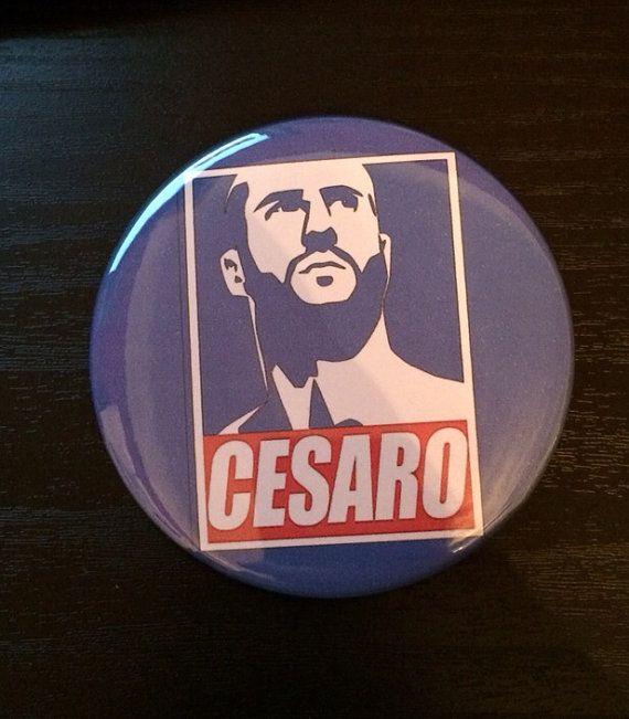 Cesaro Button on Etsy, $3.00