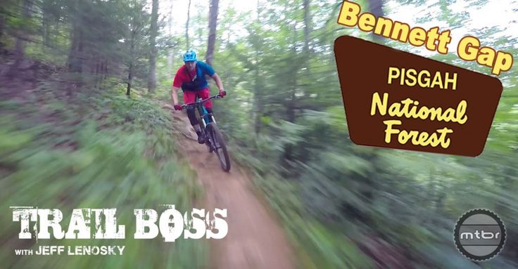 Jeff Lenosky Trail Boss Series heads to Pisgah - Mountain Bikes For Sale
