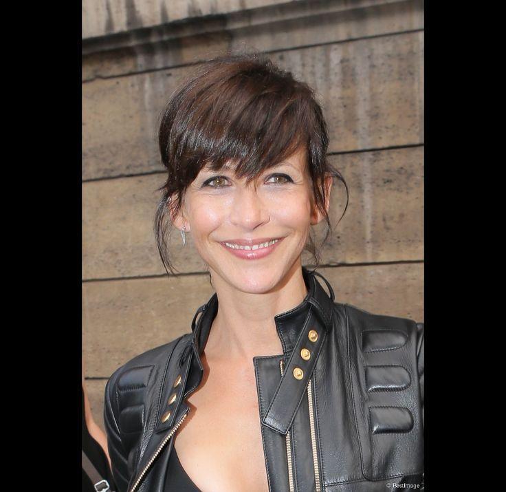 Sophie Marceau au défilé Alexandre Vauthier le 7 juillet 2015.