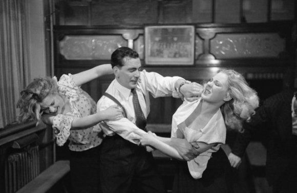Bert Hardy - Bar fight